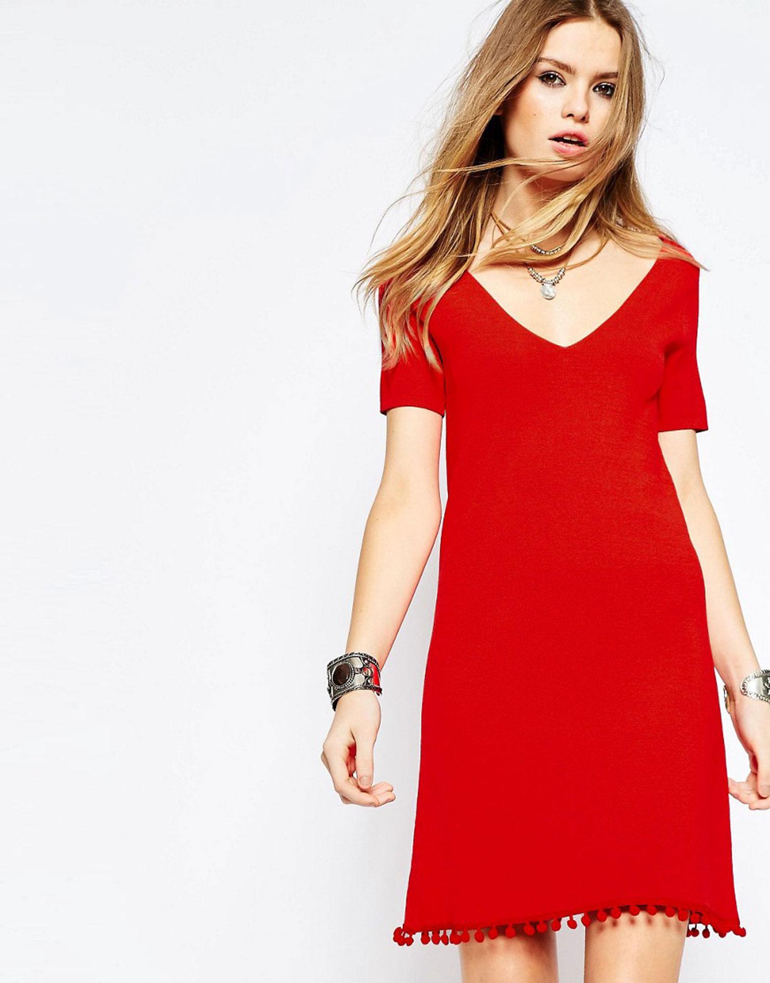 trend lady in red in dieser signalfarbe wollen wir. Black Bedroom Furniture Sets. Home Design Ideas