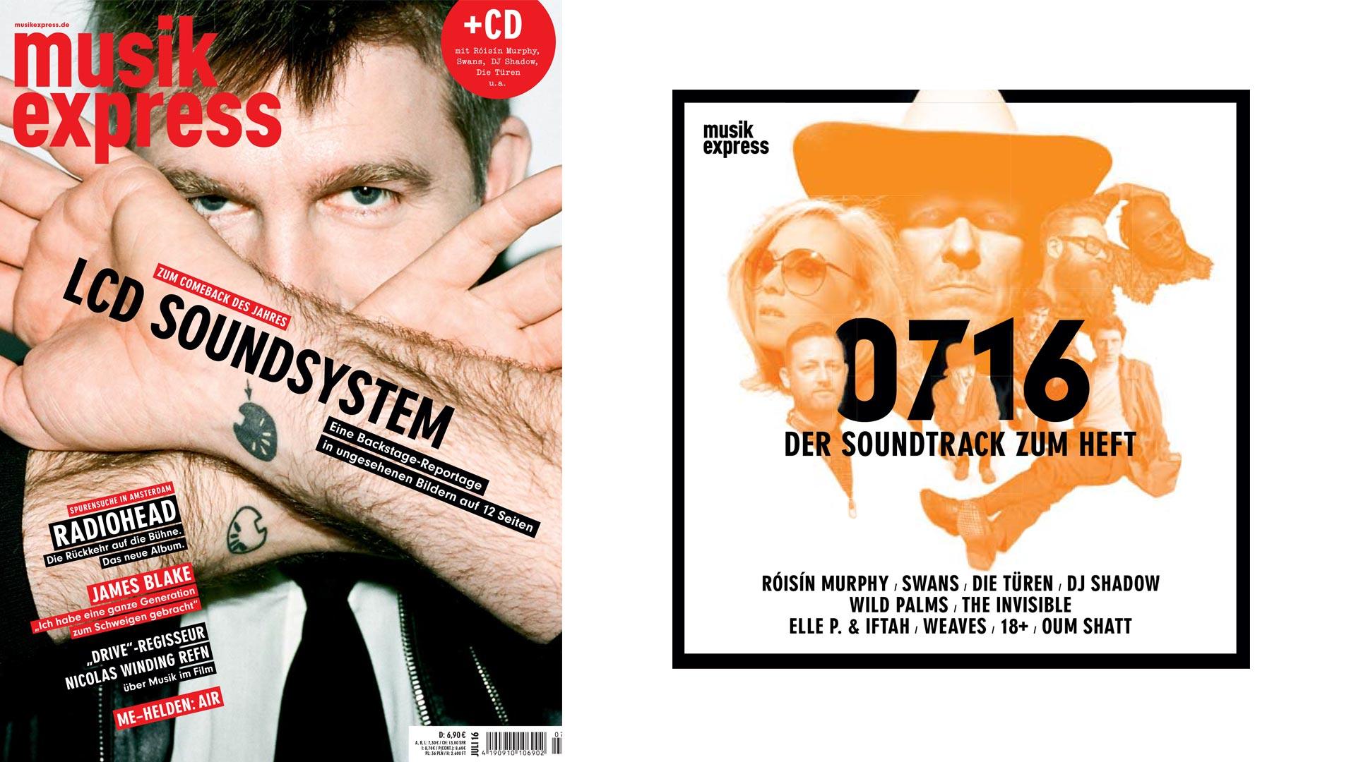So sieht der neue Musikexpress aus - ab dem 9. Juni am Kiosk erhältlich.