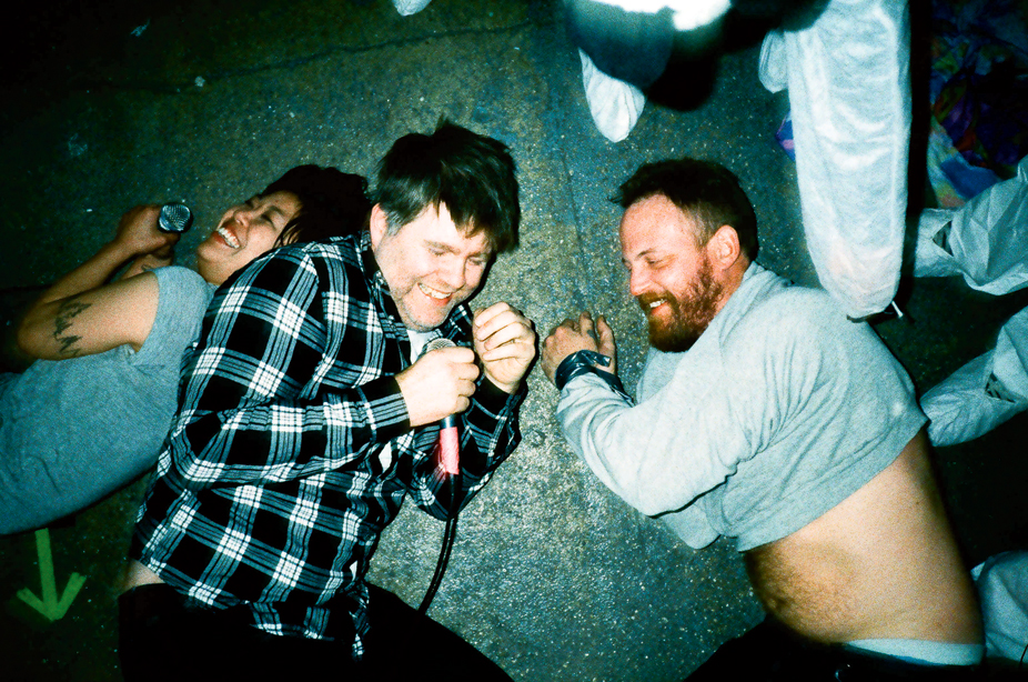On the set of 'Drunk Girls' Music Video, 2010