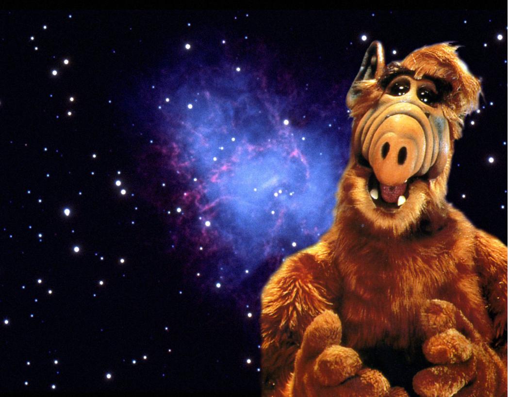 """""""Alf"""" lief zwische 1986 und 1990 in 102 Episoden."""