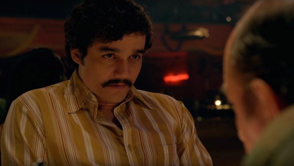 """Wagner Moura spielt in der Serie """"Narcos"""" den Kokainkönig Pablo Escobar."""