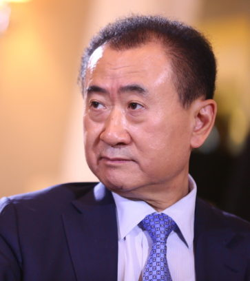 Wang Jianling spricht stolz von Chinas grter grenzberschreitender bernahme im Kulturbereich