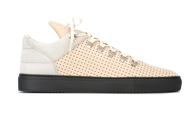 Trend-Lasercut-Herrenmode-Cut-Out-Fashion-Sneakers-