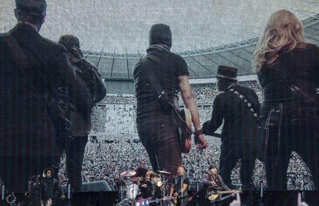 Drei Stunden in schönster Olympiastadion-Kulisse mit The Boss und der E Street Band