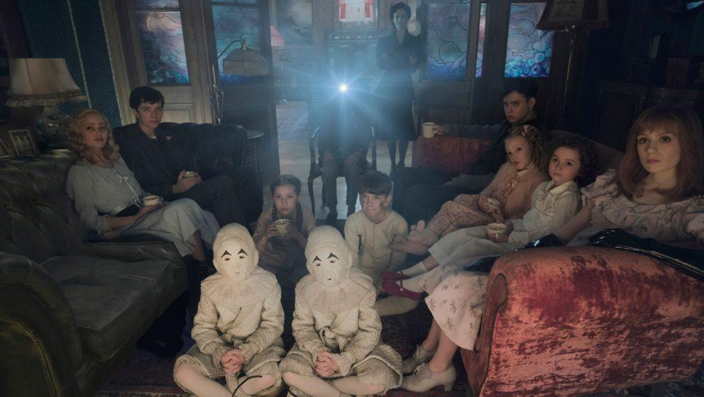 Auch bei den besonderen Kindern gibt es einen Filmeabend, allerdings mit menschlichem Projektor.