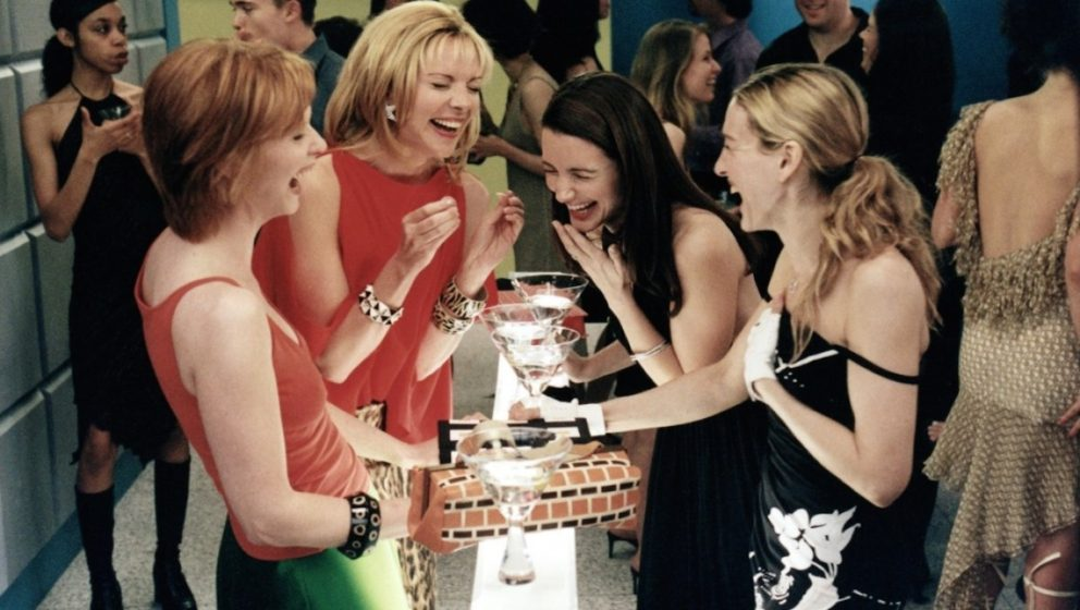 Sex and the City: Miranda, Samantha, Charlotte und Carrie. (v.l.)
