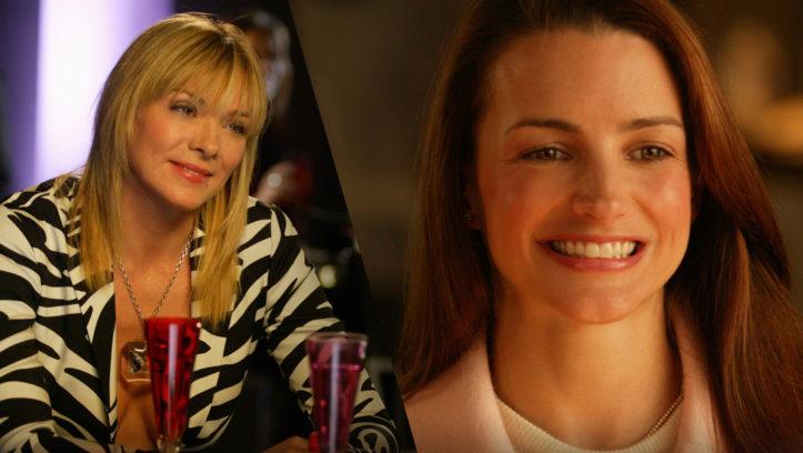 Samantha Jones (Kim Cattrall) und Miranda Hobbes (Cynthia Nixon)