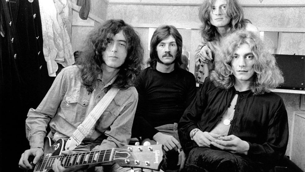 (NO SUB AGENCIES IN UK, FRANCE, GERMANY, HOLLAND, SWEDEN, FINLAND, JAPAN.)    Led Zeppelin (Jimmy Page, John Bonham, John Pau