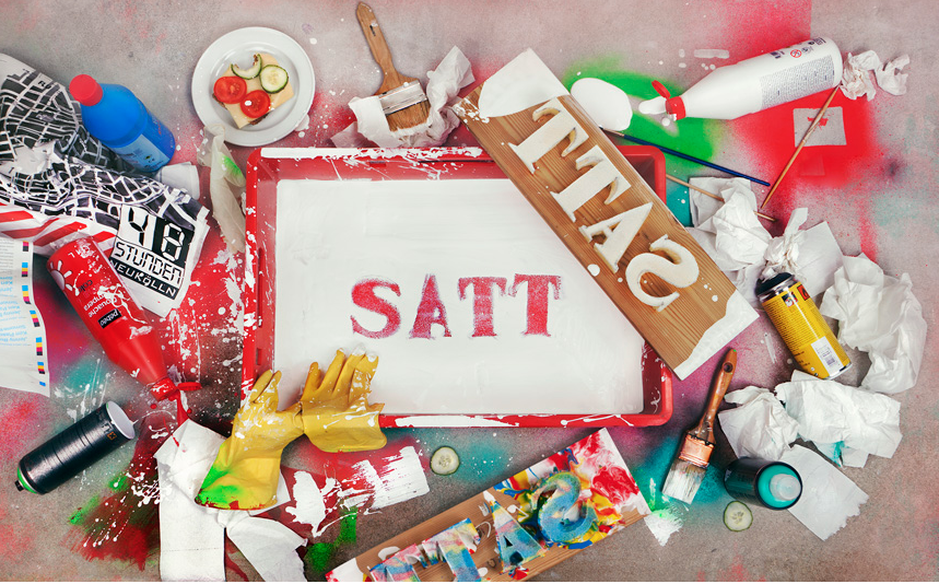 Das Motto des diesjährigen Festivals: SATT.