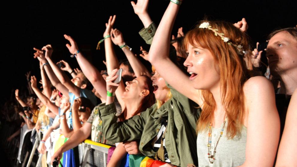 Das Publikum beim INmusic Festival 2016.