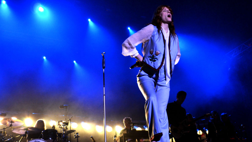 Florence + The Machine live beim INmusic Festival 2016.