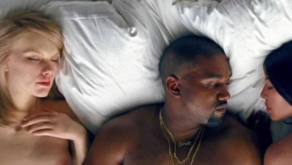 Im bett mit Kanye - wird wohl eher nicht passieren