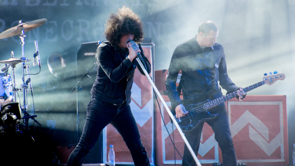 At The Drive-In beim Roskilde Festival 2016