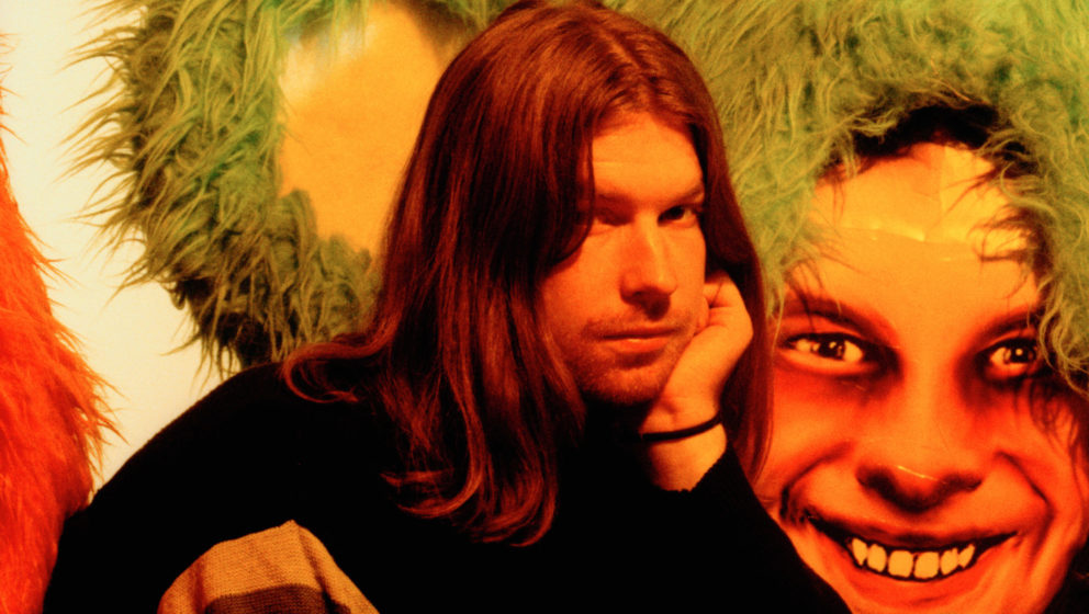 English electronic musician and composer Aphex Twin (Richard James), circa 2000. (Photo by Andy Willsher/Redferns/Getty Image