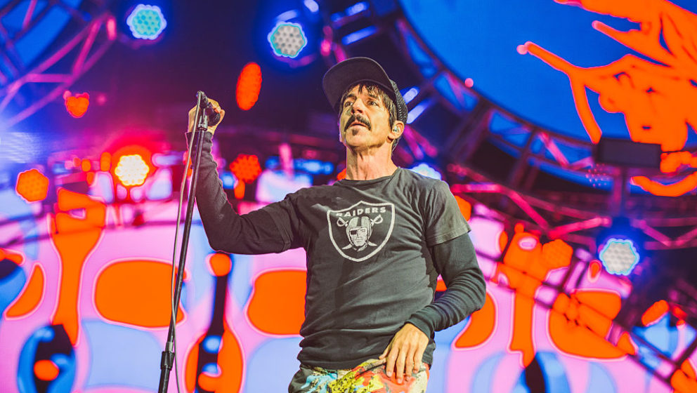 GDYNIA, POLAND - JUNE 30:  Anthony Kiedis of Red Hot Chili Peppers performs live at Open'er Festival at Gdynia Kosakowo Airpo