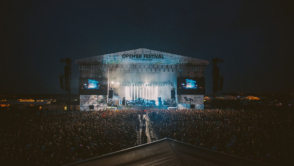 GDYNIA, POLAND - JULY 01:  General view of Open'er Festival at Gdynia Kosakowo Airport, on July 1, 2016 in Gdynia, Poland.  (