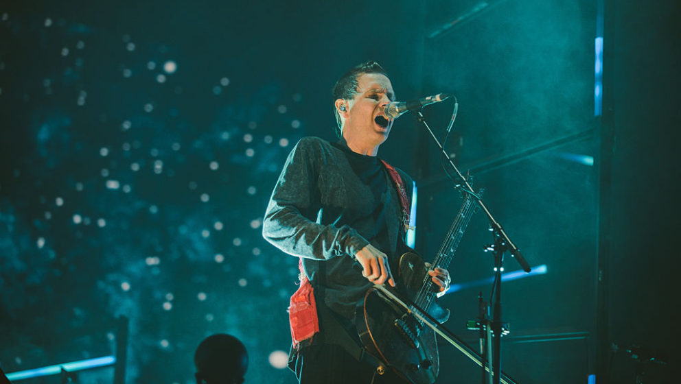 GDYNIA, POLAND - JULY 01:  Jonsi of Sigur Ros performs live at Open'er Festival at Gdynia Kosakowo Airport, on July 1, 2016 i