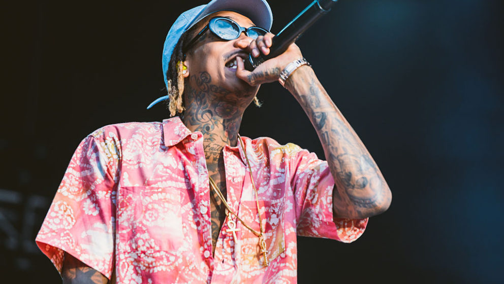 GDYNIA, POLAND - JULY 01:  Wiz Khalifa performs live at Open'er at Gdynia Kosakowo Airport, on July 1, 2016 in Gdynia, Poland