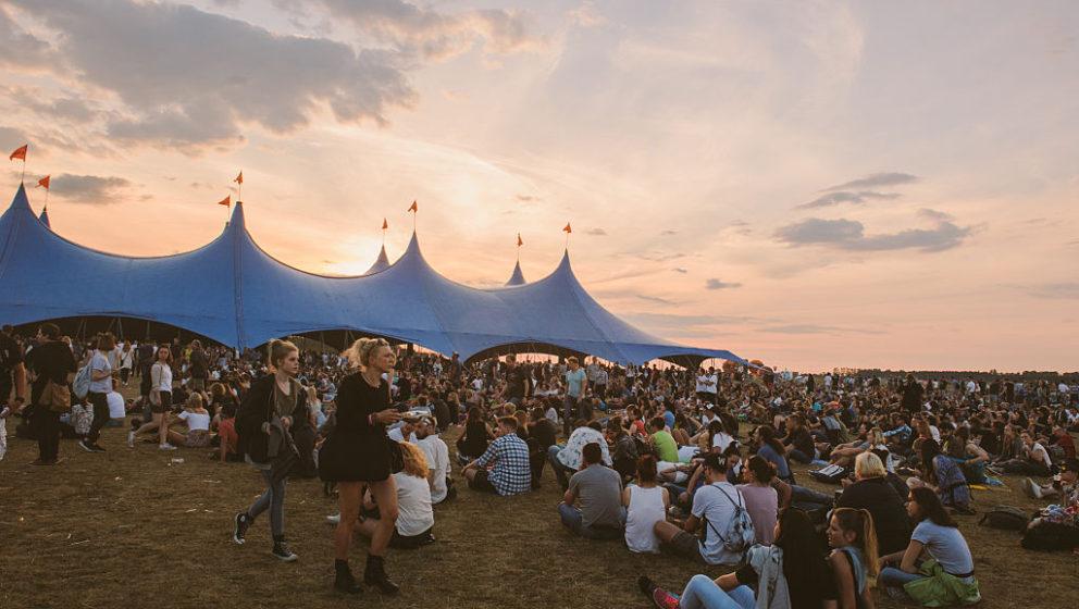 Schöne Aussichten beim Open'er Festival 2016 in Gdynia, Polen.