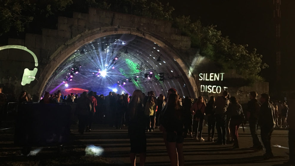 Silent Disco beim Open'er Festival 2016.