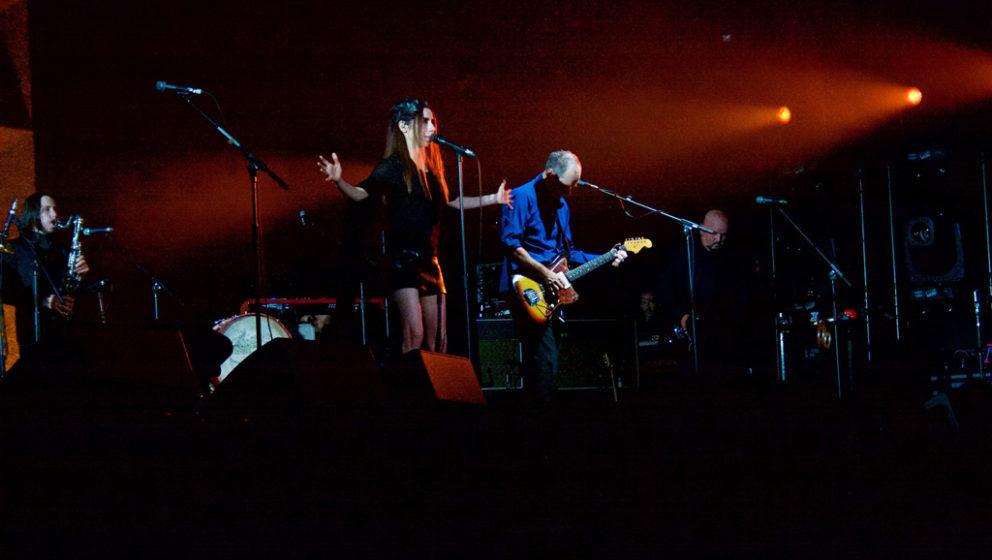 PJ Harvey beim Open'er Festival 2016.