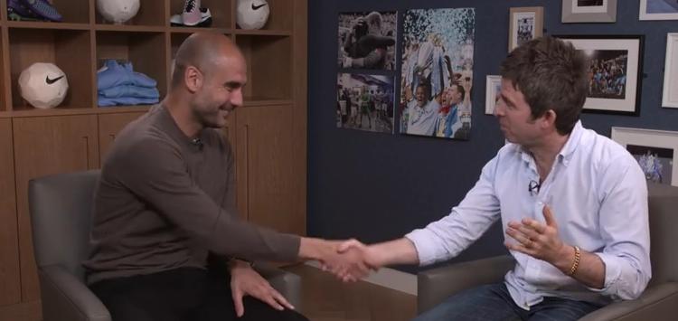 """Noel über Pep Guardiola: """"Ich will sein Gesicht ablecken!"""""""
