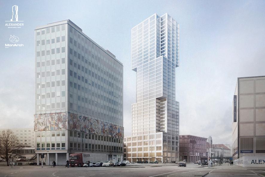 So wird das höchste Gebäude in Berlin aussehen.