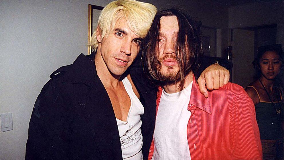 John Frusciante, hier 1999 neben Peppers-Sänger Anthony Kiedis
