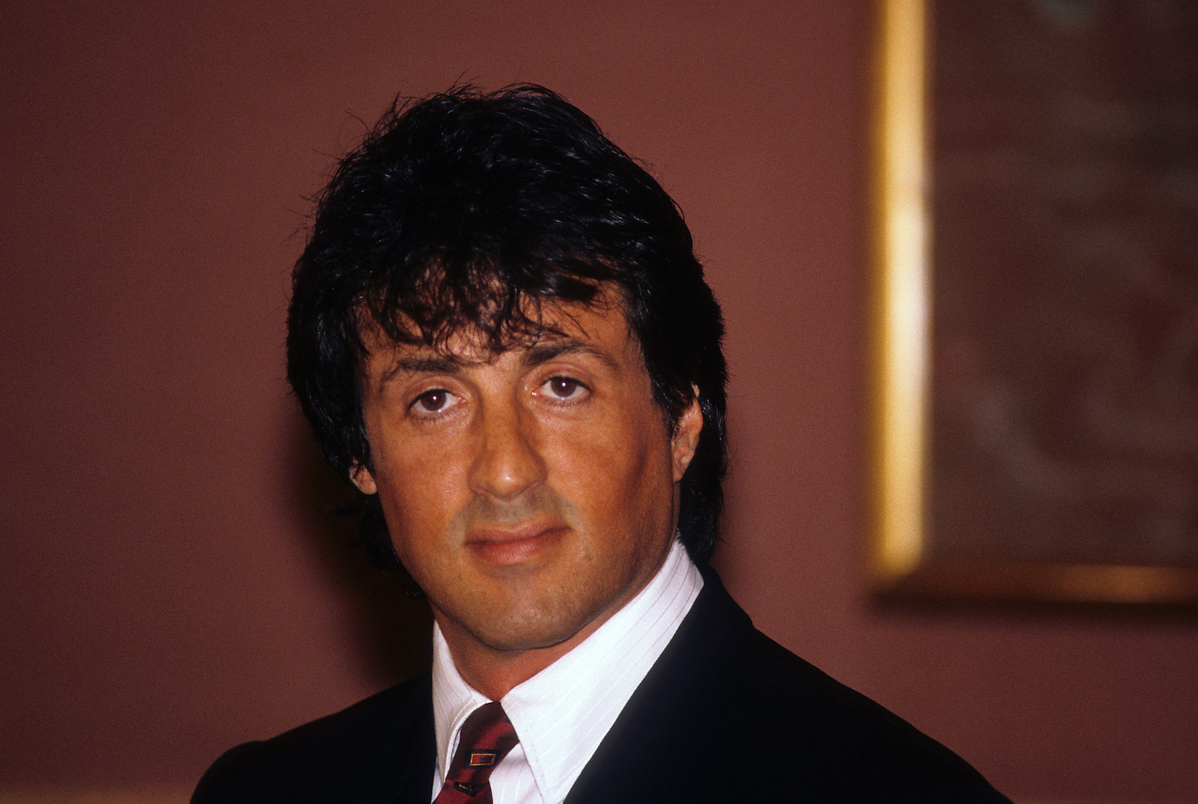 Sylvester Stallone, 1987. (Photo by Getty Images)