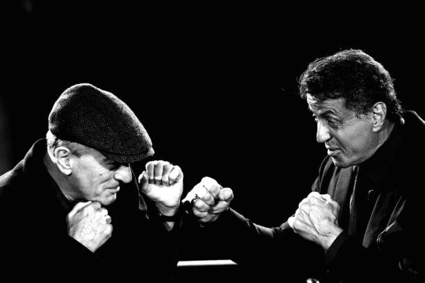 """Robert De Niro und Sylvester Stallone bei der Premiere von """"Zwei vom alten Schlag"""""""