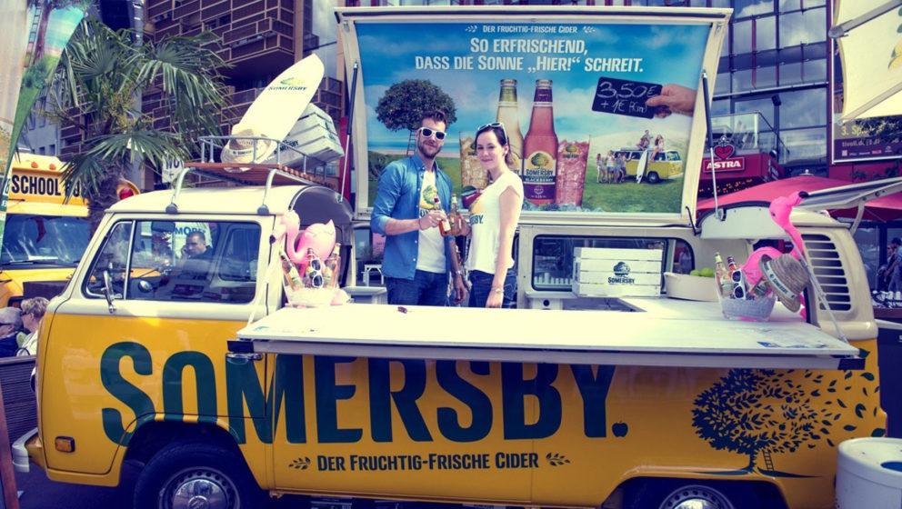 Somersby verlost Tickets für das Festival MS Dockville