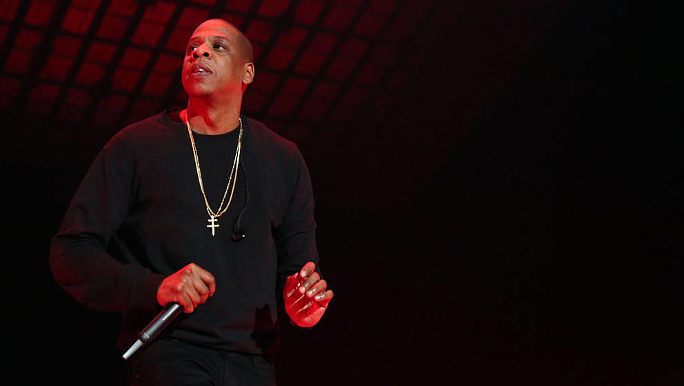 NEW YORK, NY - OCTOBER 20:  Jay Z performs during Tidal X: 1020 at Barclays Center on October 20, 2015 in the Brooklyn boroug