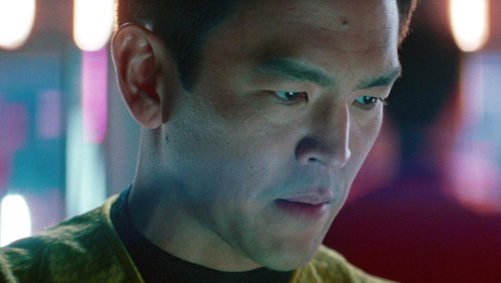LOS ANGELES - MAY 16: John Cho as Lieutenant Hikaru Sulu in the 2013 movie, 'Star Trek: Into Darkness.' Release date May 16,