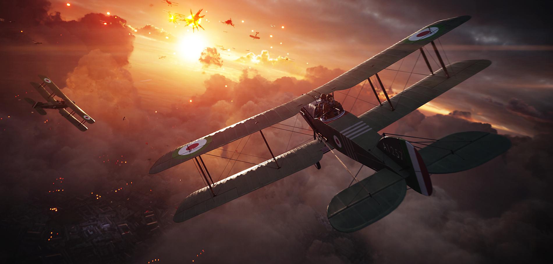 """Der neueste Teil der """"Battlefield""""-Reihe spielt wieder zur Zeit des ersten Weltkriegs."""