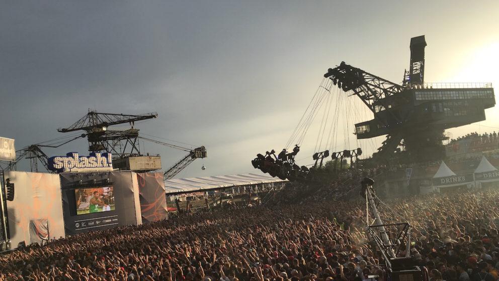 Atmosphäre beim Splash Festival 2016