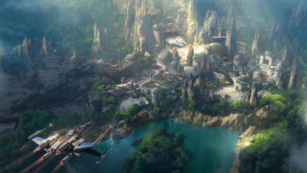"""Nein, es ist nicht Naboo - das """"Star Wars""""-Land entführt euch auf einen bisher ungesehenen Planeten."""