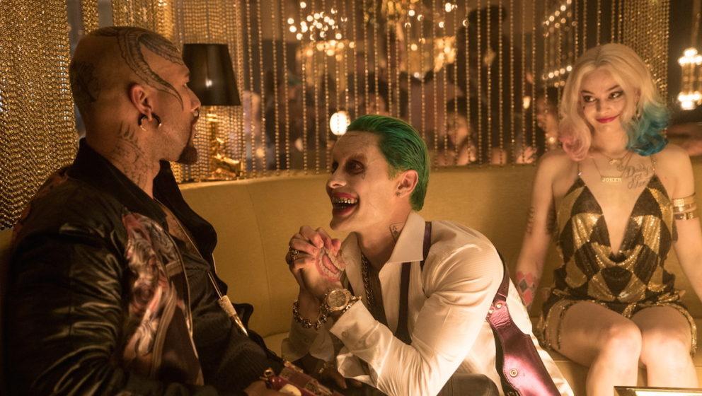 Monster T (l.) wird vom ehemaligen Rapper Common gespielt. Mit Jared Leto als Joker darf man sich auf exzellentes Schauspiel