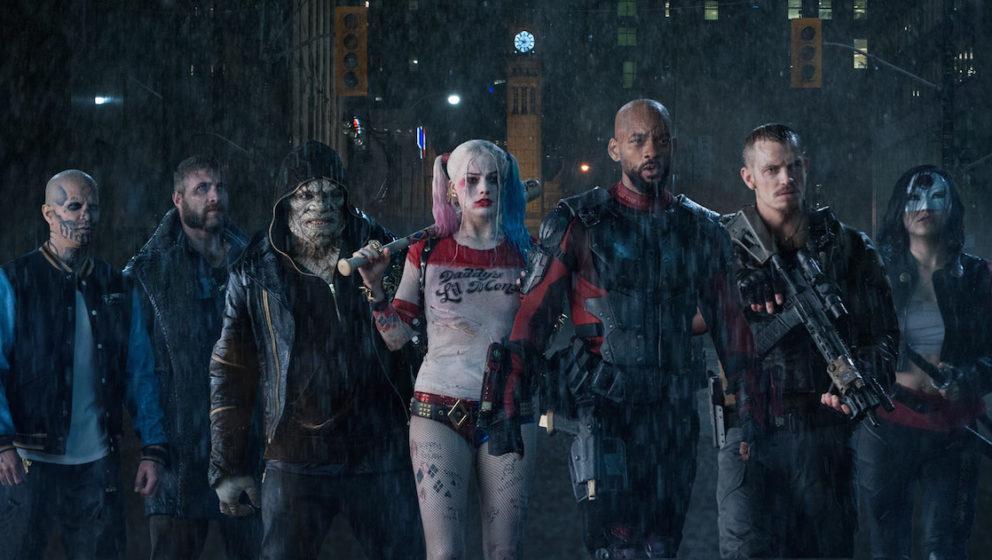 V.l.n.r.:  El Diablo (Jay Hernandez), Captain Boomerang (Jai Courtney), Killer Croc (Adewale Akinnuoye-Agbaje), Harley Quinn