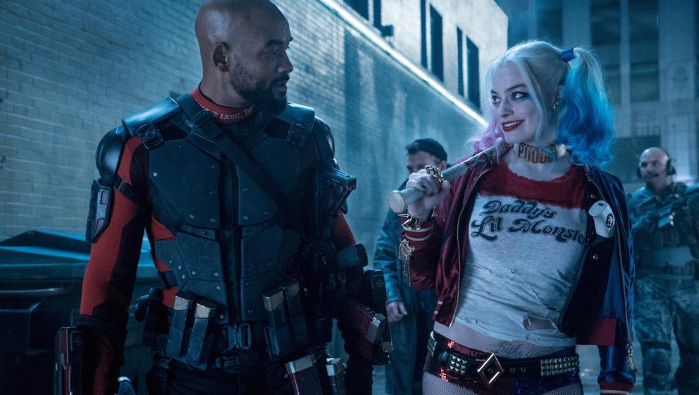 Super-Scharfschütze Deadshot (Will Smith) und Harley Quinn (Margot Robbie), die Hin- und Wieder-Geliebte des Jokers.