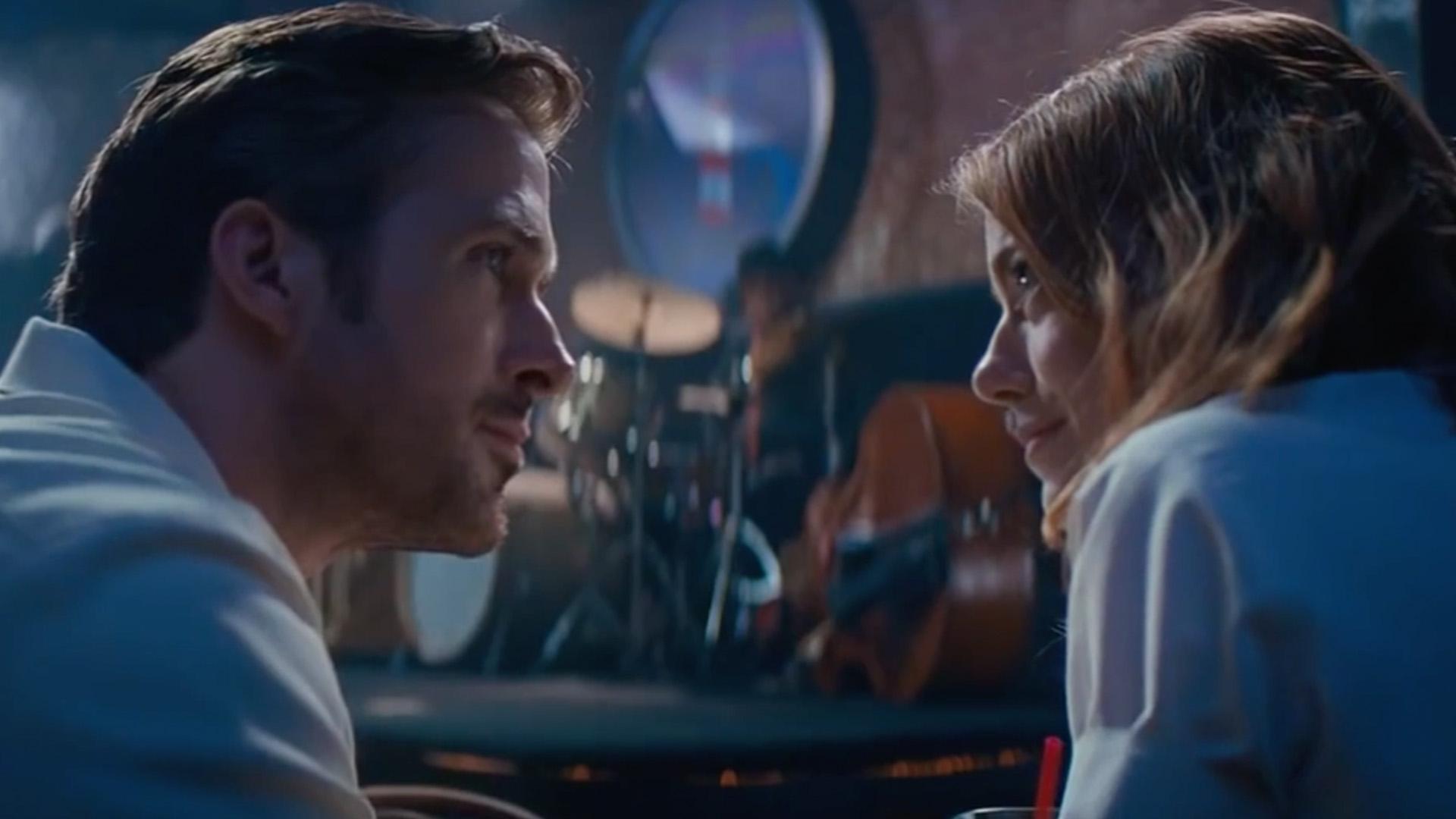 """In """"La La Land"""" treffen Ryan Gosling und Emma Stone zum dritten mal aufeinander."""
