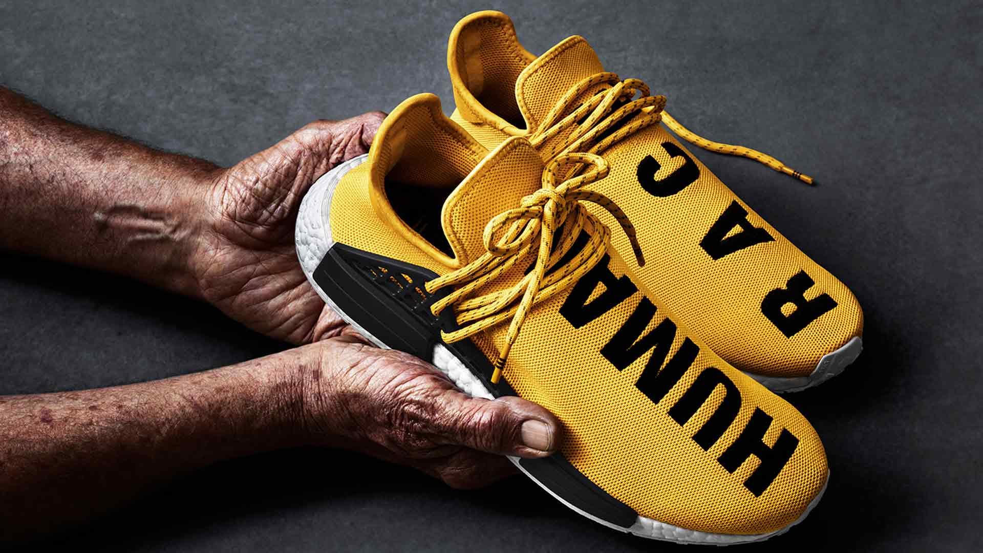 "Pharrell Williams' Adidas NMD Sneaker ""Human Race"" launcht"