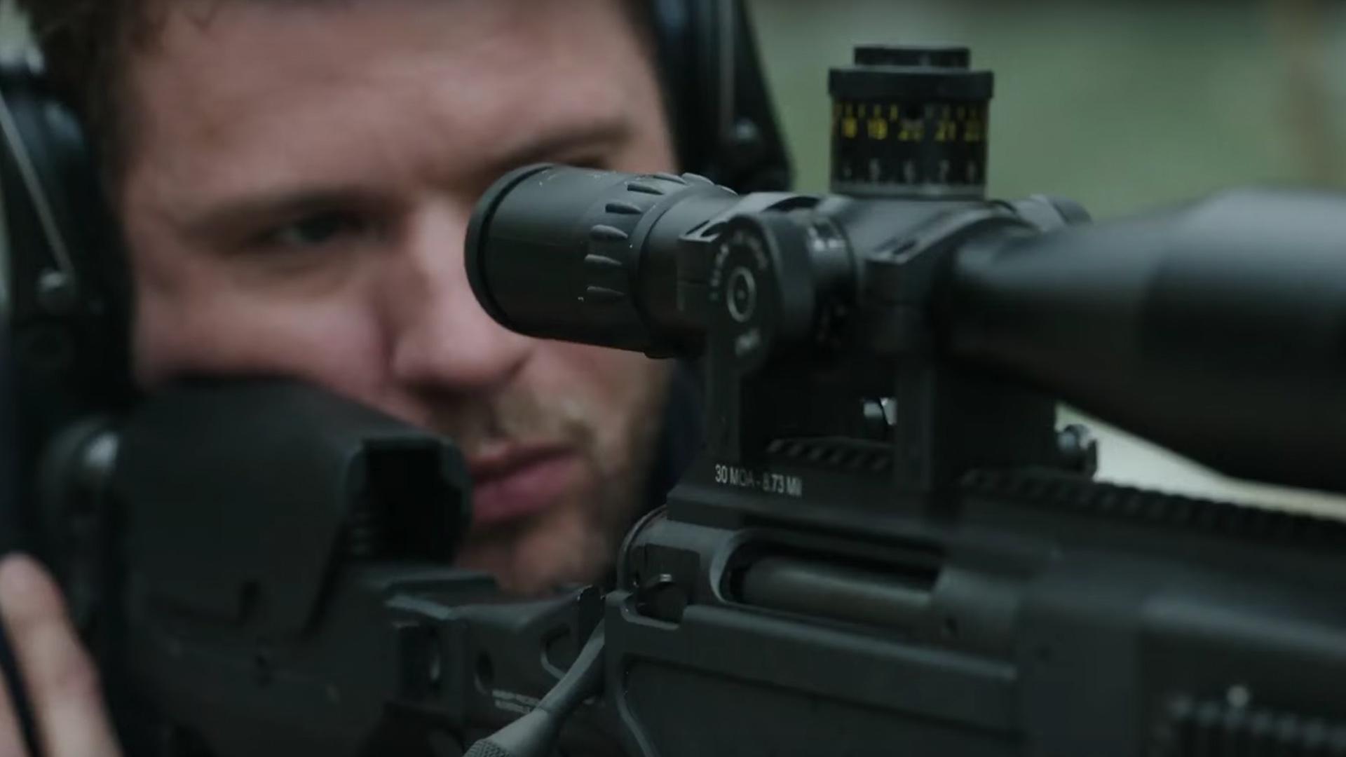 """Ryan Phillippe spielt in """"Shooter"""" den ehemaligen Marine-Soldaten Bob Lee Swagger, der sich dadurch auszeichnet, ein beso"""