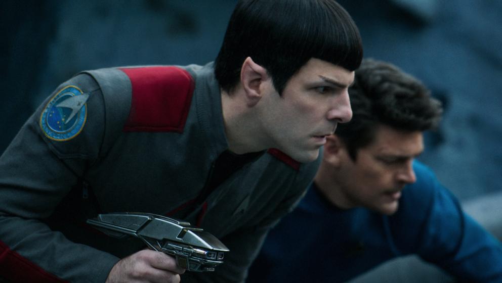 Spielt zum dritte Mal Spock: Zachary Quinto.