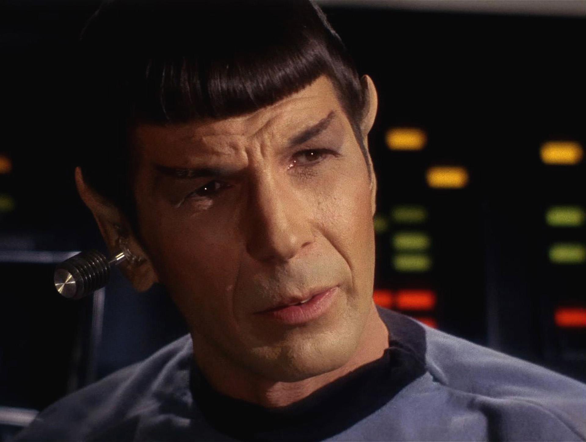 Star Trek the Original Series Season 1 Episode 1 ' The Man Trap ' Pictured: Leonard Nimoy as Mr. Spock HD Frame Grab: CBS Par