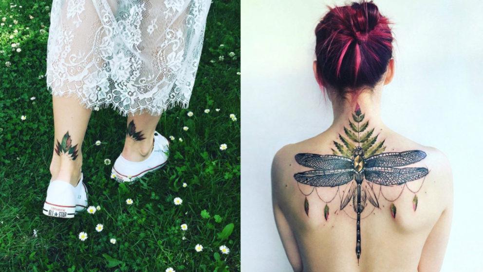 Tattoo-Trend Natur: Flora und Fauna gehen jetzt unter die Haut - Musikexpress