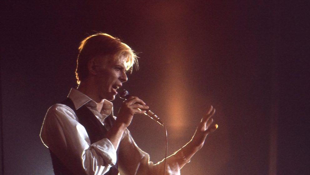 David Bowie bei einem Konzert in Nashville/ Tennessee im März 1976