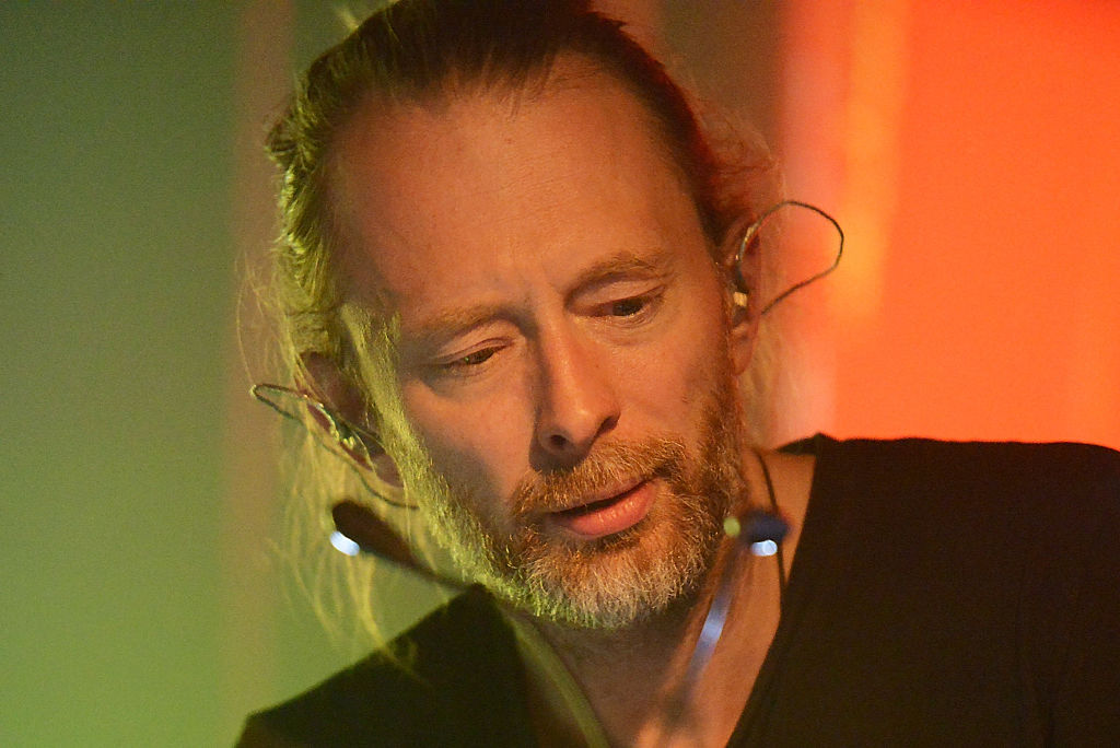 SOUTHWOLD, ENGLAND - JULY 18:  Thom Yorke performs on day 3 of Latitude Festival at Henham Park Estate on July 18, 2015 in So