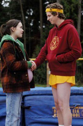 """""""Juno"""" mit Ellen Page und Michael Cera fand sich auf der ersten Black-List wieder. Bei den Acadamy Awards 2008 gewann Diablo Cody den Oscar für das beste Originaldrehbuch."""