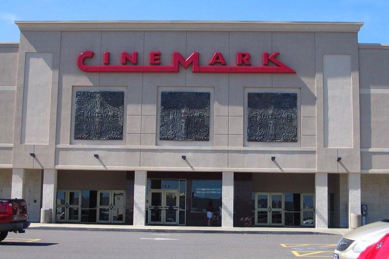 Das Cinemark in Paducah, hier ereignete sich der Zwischenfall.