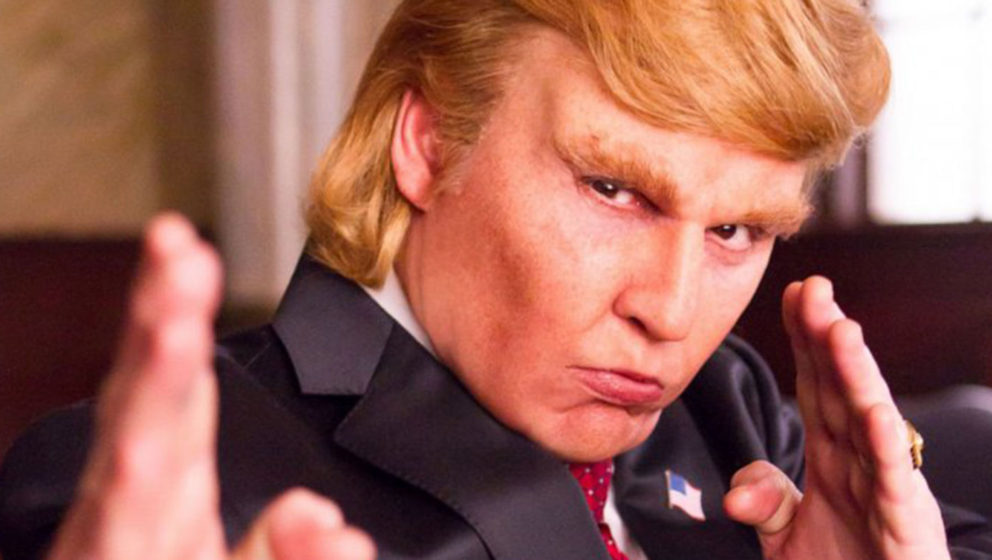 Johnny Depp als Donald Trump